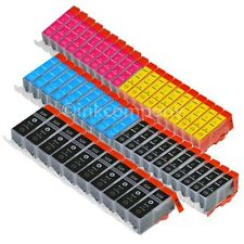 50 Druckerpatronen + CHIP PGI-520 CLI-521 IP 3600 IP 4600 IP 4700 MP 540 550 NEU