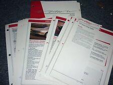1991 Ford Probe Dealer Album Sheets Brochure