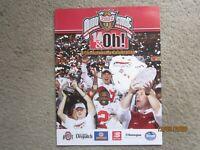 2002 OHIO STATE FOOTBALL NATIONAL CHAMPIONS CELEBRATION PROGRAM OSU JIM TRESSEL