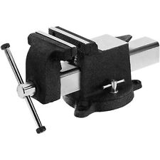 Mechanic Table Top Clamp Press Locking Swivel Base Heavy Duty Pipe Bench Vise