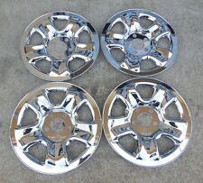 """16"""" Set of Four (4) Chrome Skins 2012-2016 Honda CR-V 5 spoke Steel Wheels Rims"""
