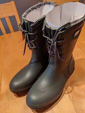 Bogs Amanda Plush Women's Rain Boot Green Size 9 NEW