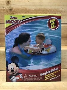 Disney Junior Mickey Mouse Inflatable Boat 25X18.5X11 Inches Ages 18 Months+