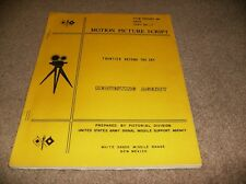 FRONTIER BEYOND THE SKY- UNITED STATES ARMY- MOTION PICTURE SCRIPT- 1958
