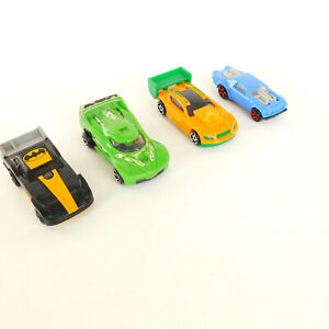 Hot Wheels McDonald Promotions Lot of 4 Cars 3 Cars Wind UP