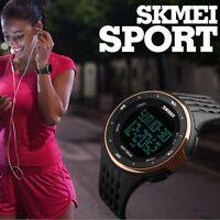 Montre Sport SKMEI Homme Femme Etanche Neuve Etanche 5ATM Multifonctions PROMO