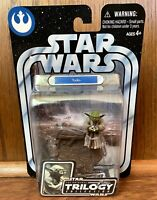 "Yoda #02 Star Wars Original Trilogy Collection 3.75"" Figure New 2004 Hasbro"