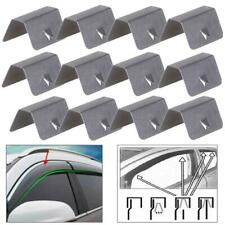 12x Wind / Rain Deflectors Channel New Metal Universal Clips For Heko SNED Clip