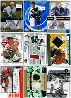 HUGE Lot Of 2002-03 Autos - Game Used - Rookies - Parallels - Inserts - Base