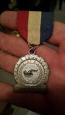 Antique Vintage  swimming medal
