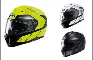 HJC RPHA 90S Bekavo Modular Flip Front Motorcycle Motorbike Crash Helmet