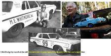 CD_1761 #99 Gene Hobby  1964 Dodge  1:64 scale decals  ~OVERSTOCK~
