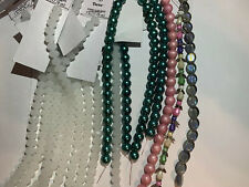 Mixed Lot Darice Glass Beads, Pearls And Angel Beads $84 MSRP