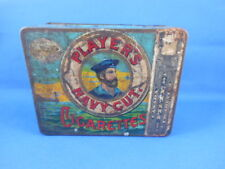 Antique PLAYER'S NAVY CUT CIGARETTES  (short tin) Players & Sons England