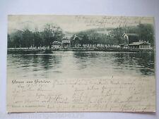 seltene alte AK Stettin Pommern Gruss aus Gotzlow gelaufen 1901