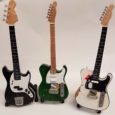 Miniature Guitars As Played By Status Quo's Rossi, Lancaster & Parfitt