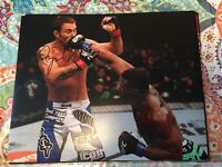 TYRON WOODLEY UFC MMA FIGHTER SIGNED AUTOGRAPH 8x10 PHOTO F w/ PROOF
