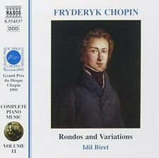 Chopin Rondos and variations (Naxos) Idil Biret [CD]