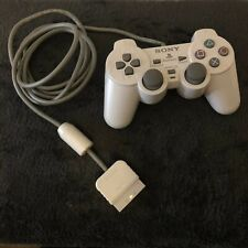 Official Sony Playstation 1 Dualshock Controller - Light Grey (PS1) - FAST Post