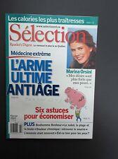 "Selection Reader's Digest Magazine Fevrier 2003  ""L'Arme Anti-Age, Marina Orsini"