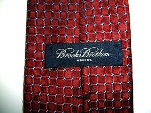 """NEW-- BROOKS BROTHERS TIE--QUALITY SINCE 1818--WOVEN IN ENGLAND--PURE SILK--57"""""""