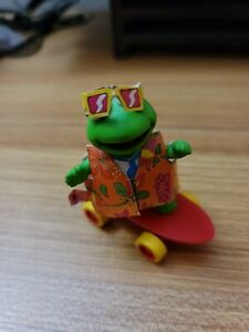 Kermit the Frog miniature Figurine Skateboarder 1986