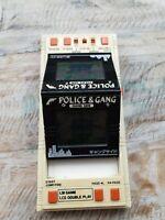 Ultra Rare Bandai Police and Gang 1984 Vintage LCD Handheld Electronic Game