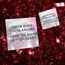 SECONDS SALE The 1975 The Sound Stickers    Lyrics Indie Pop Rock Tumblr