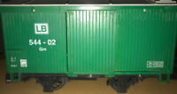 Vintage LEHMANN LB 544 - 02 GM Trailer - Made In GERMANY - GSCALE - Nice