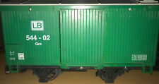 More details for vintage lehmann lb 544 - 02 gm trailer - made in germany - gscale - nice