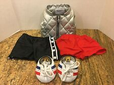 Babw Build a Bear Workshop Outfit Baller Shoes Puff Vest Breakaway Shorts 4 Pcs.