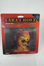 Lara CROFT TOMB RAIDER Tappetino Mouse PC raro articolo promozionale 1997 Wink edition LARA