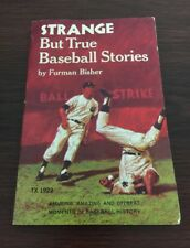 STRANGE BUT TRUE BASEBALL STORIES BOOK FURMAN BISHER