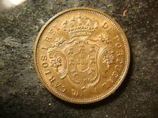 1901 BU Glossy AZORES Islanda Portugal 5 REIS Nice Copper PZX