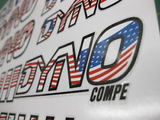 Set of Dyno Compe BMX stickers USA Flag