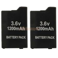 2X 3.6V 1200mAh Replacement Lithium Battery Pack Cell for Sony PSP 2000 3000 New