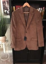 Daniel Hechter Men's Brown Corduroy Blazer Size 40/102 Tall Cotton Rayon NEW #B4