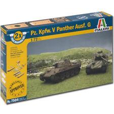 Italeri Pz Kpfw. V Panther Ausf.g (montaje rápido) 7504 1:72 Tanque Kit Modelo
