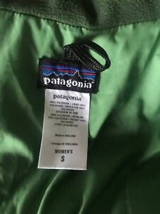Patagonia Women's jacket size S, green, excellent condition