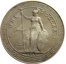 Großbritannien Trade Dollar 1934  China Silber Sailing Ship Schiff