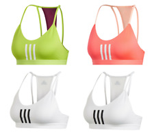Adidas Women's 3 Stripe Mesh Bra Sportswear Training Gym Yoga Top