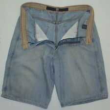 Mens 36 Actual 38 Le Jean De Marithe Francois Girbaud Blue Jean Denim Shorts