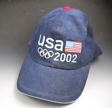 07a57cb477b New ListingROOTS Official Outfitter 2002 Salt Lake Olympic Blue Denim  Baseball Hat