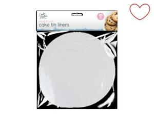 Cake Liners Non Stick Round Grease Proof Sheets Pack Of 40/80/120
