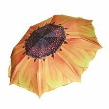 Claybox Sunflower Folding Travel Umbrella Parasol Windproof Reverse Folding US