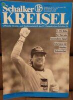 FC Schalke 04 + Schalker Kreisel Magazin 14.11.1987 + Bundesliga 1.FC Köln /620