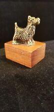 metal cast Scottish Terrier figurine