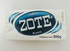 Jabon Zote Blanco 200g - 100% Mexicano