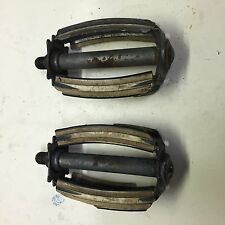 "Vintage Sears Flightliner 1/2"" pedals ~ 4.5"" long"