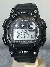 Casio Vibration Alarm Chronograph Dual Time Super Illuminator Digital Watch.